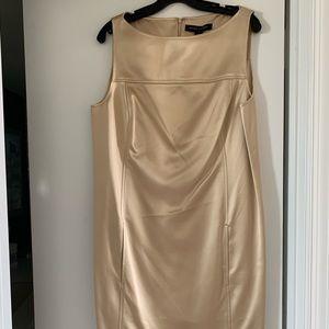 Ralph Lauren Black Label Gold Dress - Size 14